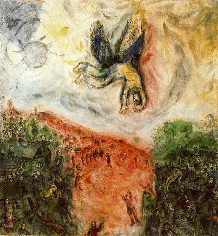 History Of Art Marc Chagall