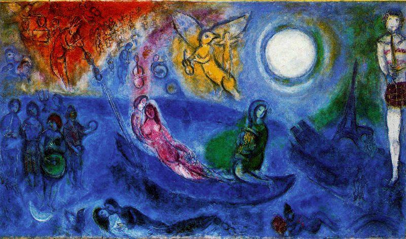 history of art marc chagall. Black Bedroom Furniture Sets. Home Design Ideas