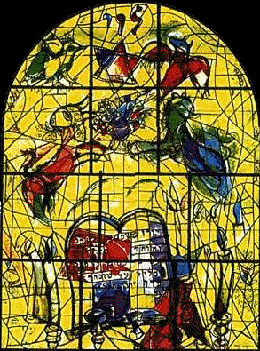 History of art marc chagall for Chagall mural chicago