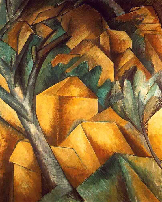 History Of Art Cubism Georges Braque