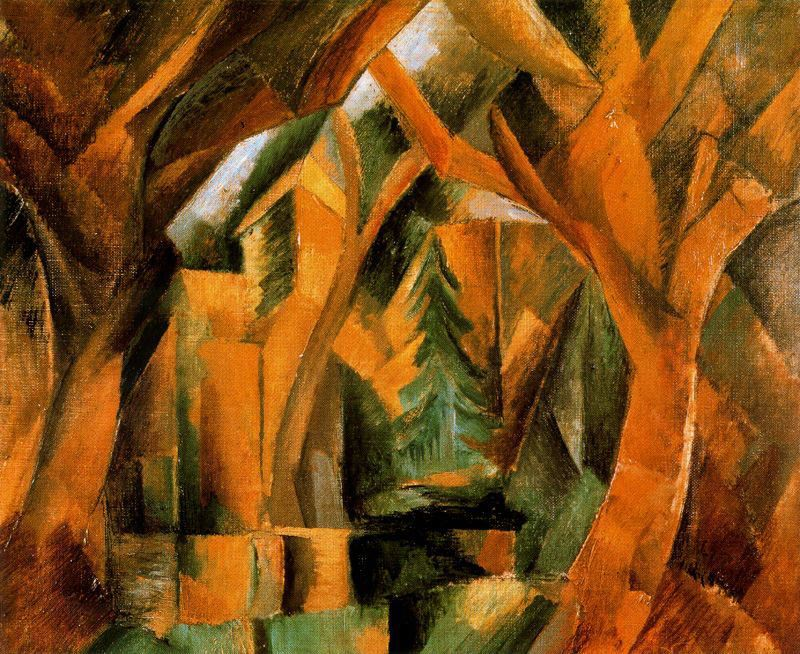 Abstract Art Violin George Braque