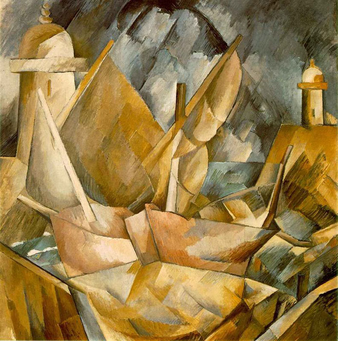 history of art cubism Within the first two decades of the 20th century, a new art movement began that was unlike any other cubism started by georges braque and pablo picasso, most cubist works are immediately recognizable due to their flattened, nearly two-dimensional appearance an inclusion of geometric angles.