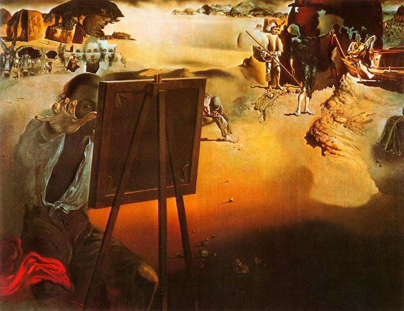 Exterior: History Of Art: Salvador Dali