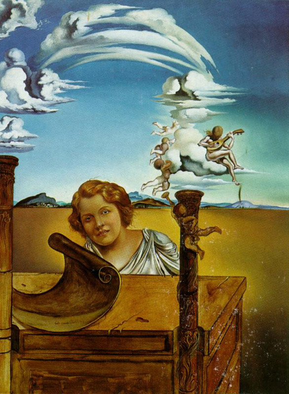salvador dali geopoliticus child watching the birth of a new man explain it as an illustration of th Salvador dali paintings: he was born in catalonia, spain on 11th may 1904 when he was a child, salvador dali showed great interest in painting and drawing.
