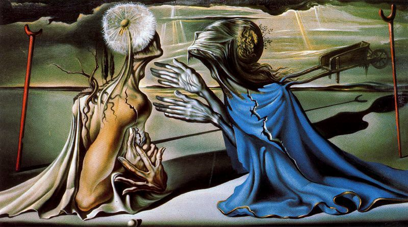 salvador dali geopoliticus child watching the birth of a new man explain it as an illustration of th Famous surrealism paintings | surrealistic painter and follower of salvador dali – josé roosevelt.