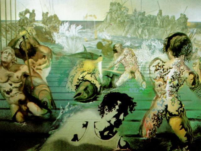 History of art salvador dali for Dali tuna fishing