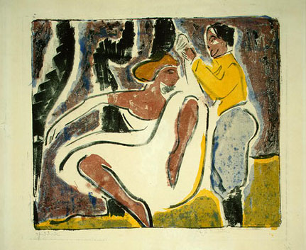 standing nude with hut ernst ludwig View ernst ludwig kirchner (1880-1938) , akt mit schwarzem hut on christiescom, as well as other lots from the prints & multiples sale 1553 prints & multiples 17.