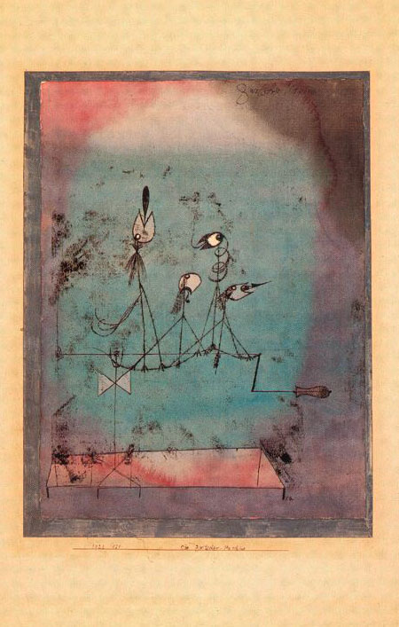 Twittering Machine >> History of Art: Paul Klee