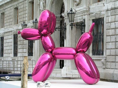 History of Art:... Jeff Koons Balloon Sculpture