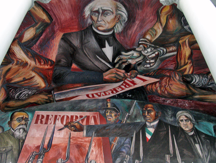 History of art jose clemente orozco for El mural jalisco