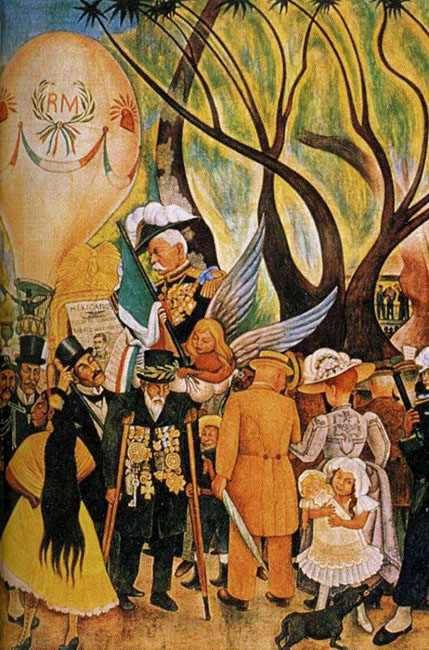 History of art diego rivera for Diego rivera mural paintings