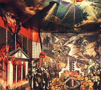 History of art david alfaro siqueiros for El mural de siqueiros