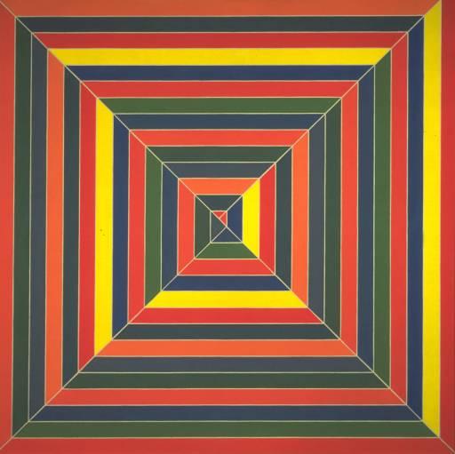 History of art frank stella for Minimal art que es