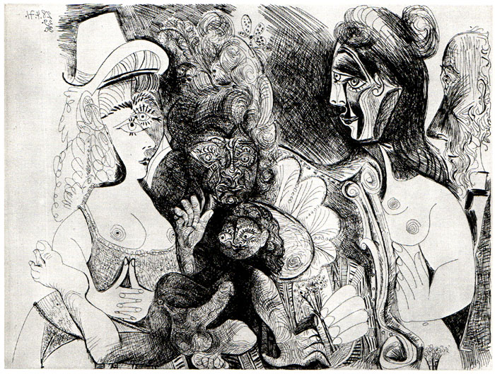 picasso only erotic