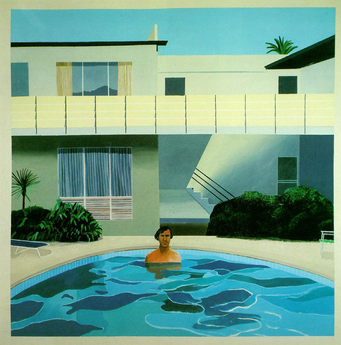 History of art david hockney - David hockney swimming pool paintings ...