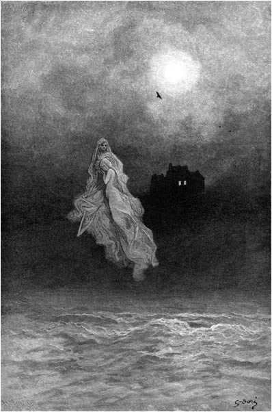 Get thee back into the tempest and the Night&#39-s Plutonian shore ...