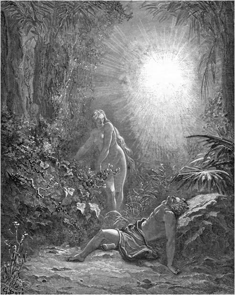 God creates Eve