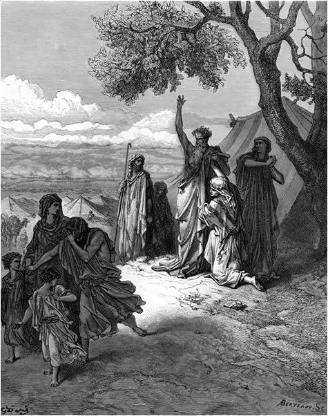 Noah curses Canaan