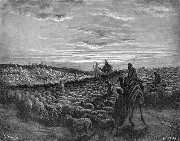 Abraham journeys to Canaan