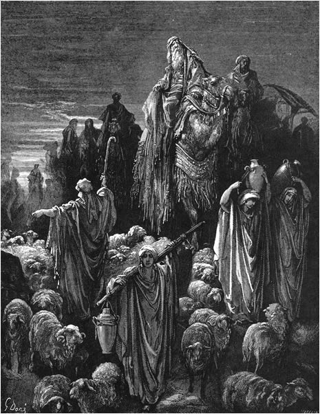 The brothers bring Jacob to Egypt