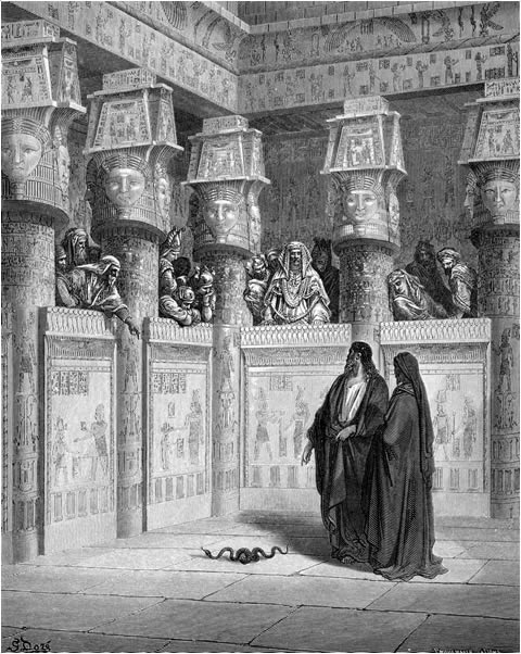 Moses before the Pharaoh