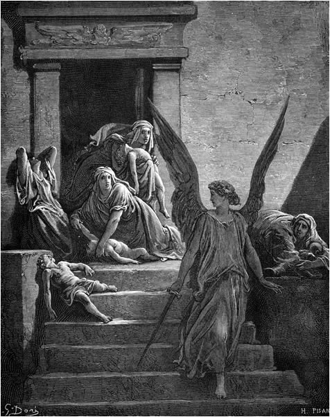 The slaying of the firstborn of Egypt