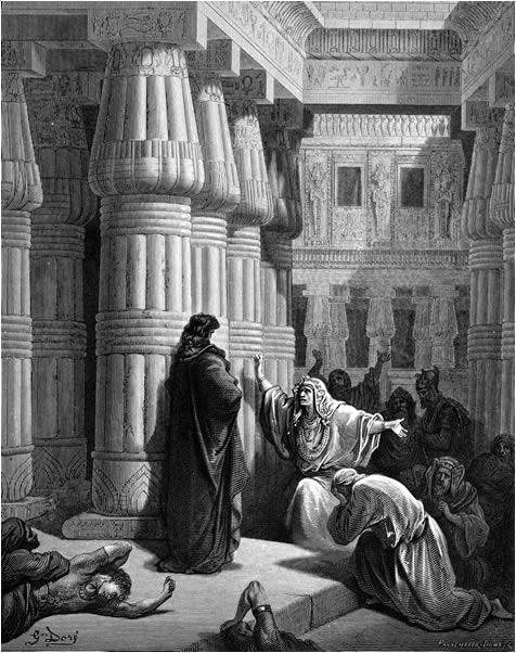 Pharaoh expels the Israelites
