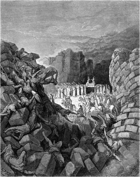 The walls of Jericho come down