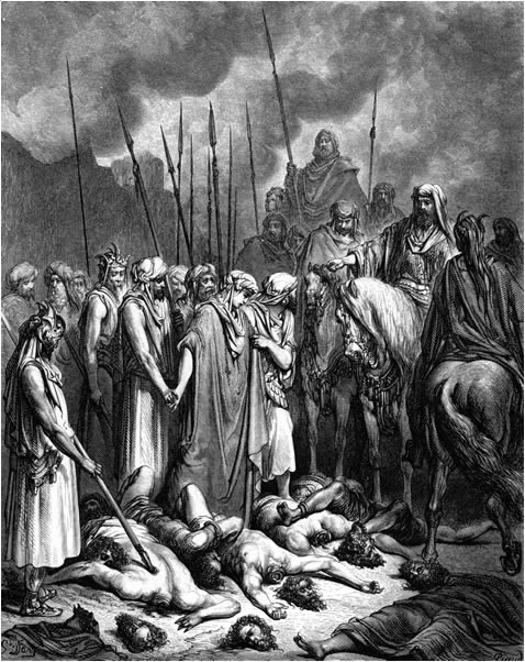 Joshua spares the life of Rahab