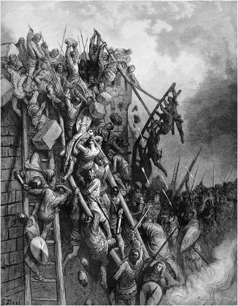 The attack on Merseburg