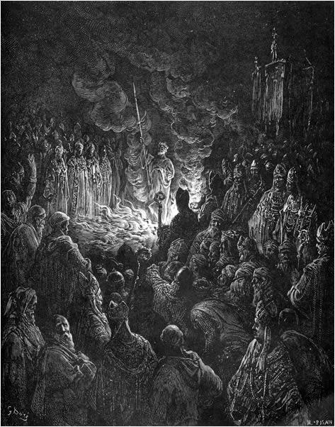 Barthélemi's ordeal by fire