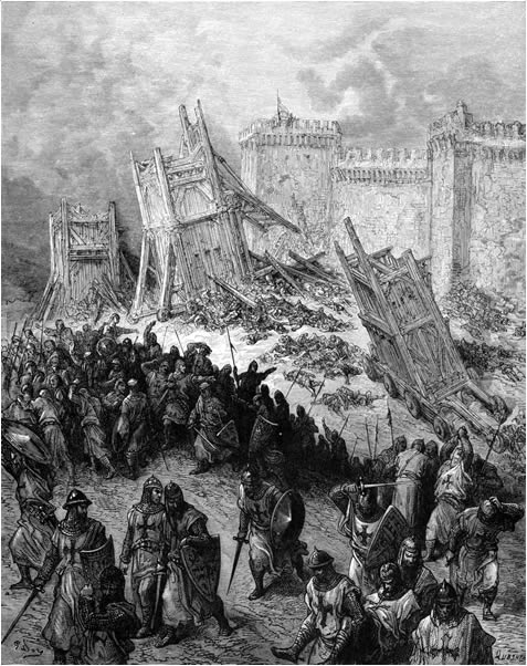 The second assault on Jerusalem