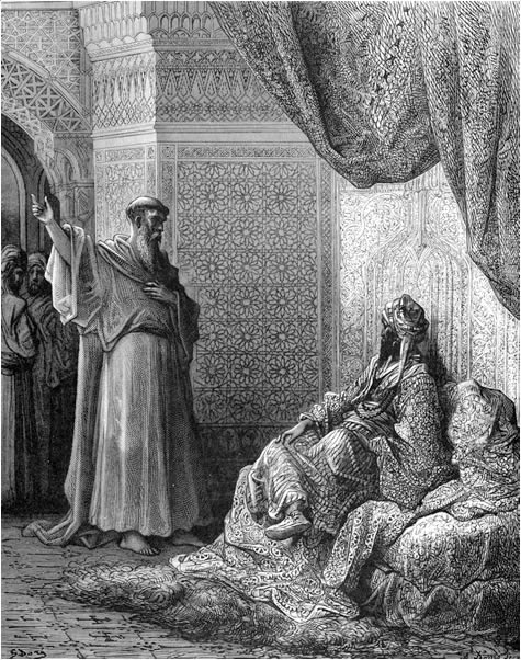 St. Francis of Assisi endeavors to convert the sultan