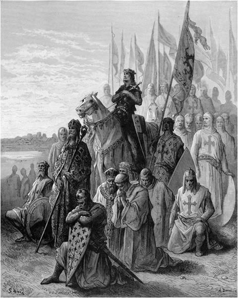 Louis IX before Damietta