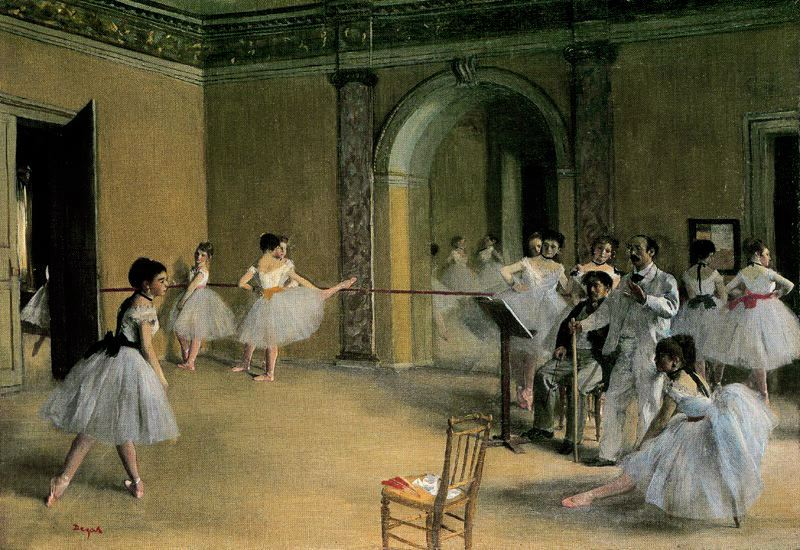 Ballet dancers changing room - 4 5