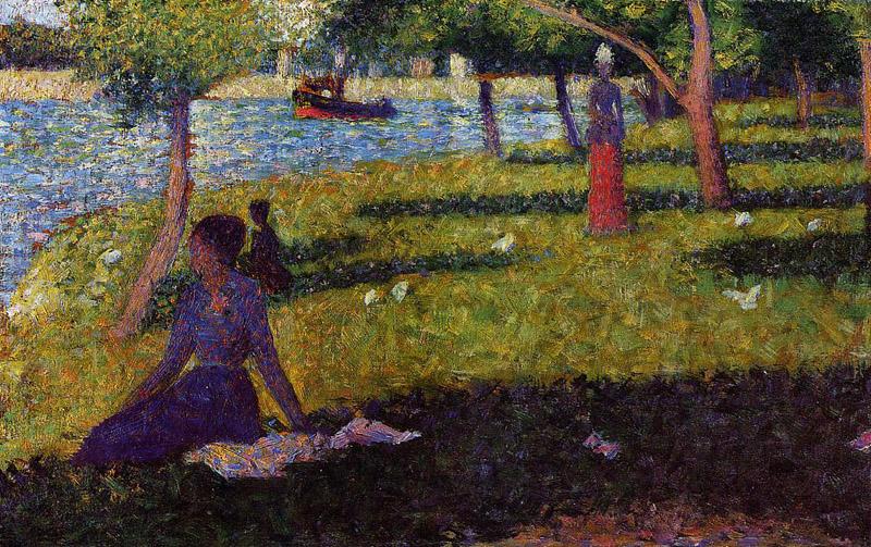georges seurat the neo impressionist essay