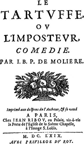 a real hypocrite in tartuffe by moliere In preserving his tartuffe from oblivion, moliere gave  tartuffe is thus not just a stage imitation of a religious hypocrite of 1664 but  the real similarity of.
