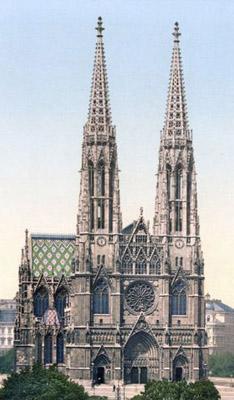 Heinrich Von Ferstel Votivkirche Wien 1856 1879