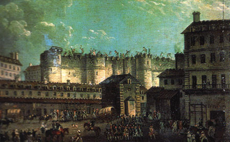 a history of the destruction of the bastille It's appropriate that the popularity of a band with a song about the fiery destruction of an ancient city began to blossom during a storm londoners bastille were.