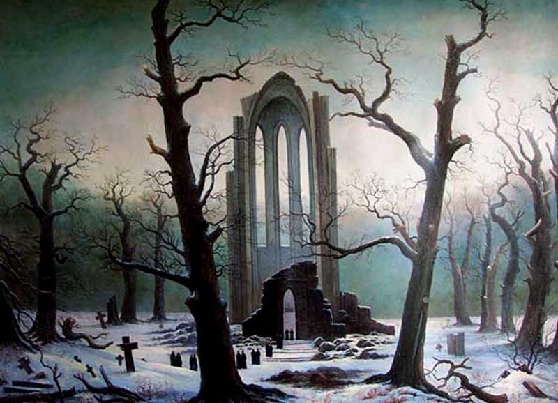History Of Art Neoclassicism And Romanticism Caspar