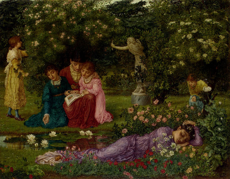 Outburst of art during the romantic era