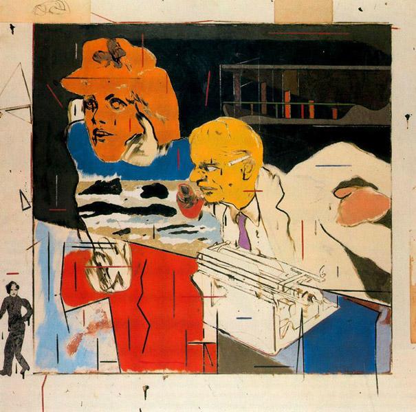 Jewish Museum BerlinDavid Hockney visits R.B. Kitajs