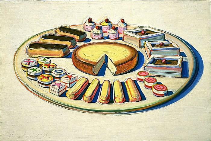 Cake Art History : History of Art: Wayne Thiebaud